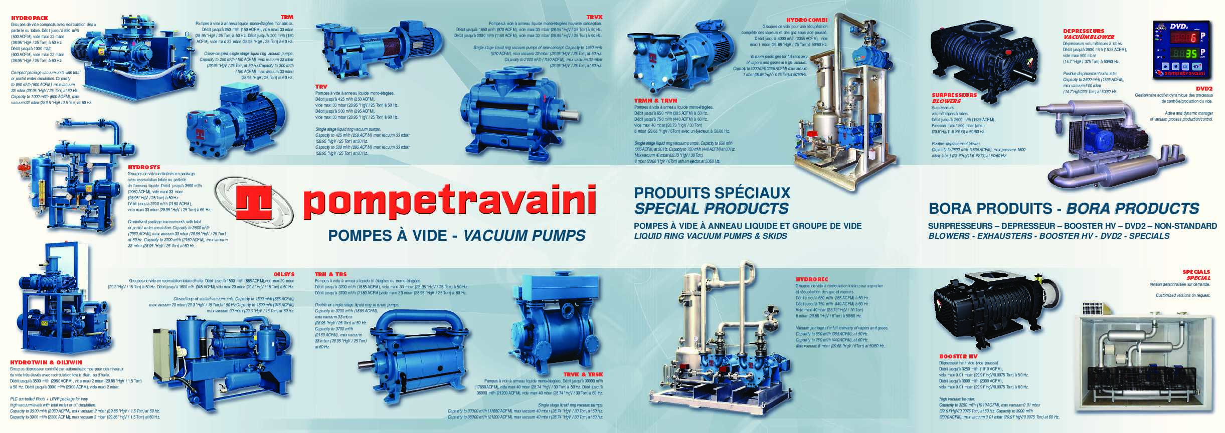 Pompetravaini Catalogue